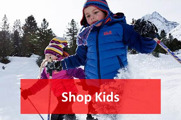 Shop kids outdoor clothing and footwear - Outdoor Adventure NI
