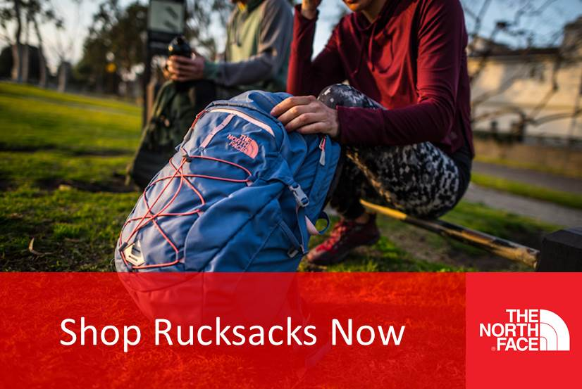 Rucksacks - Backpacks - The North Face - Jack Wolfskin - Outdoor Adventure NI