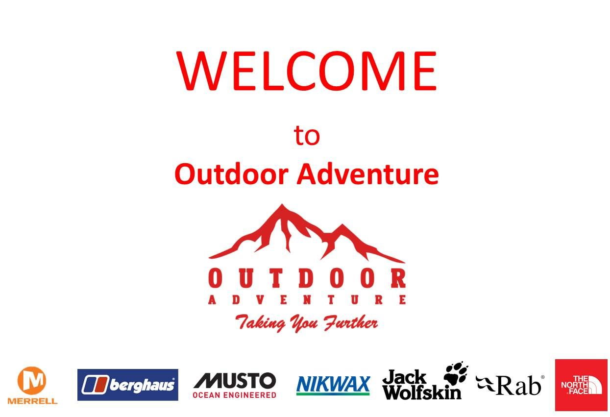 Welcom to Outdoor Adventure NI - Camping Shop - The North Face