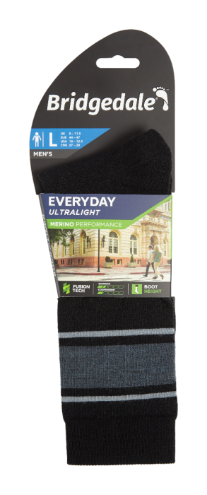 Bridgedale Everyday Merino Performance Boot Sock Liner