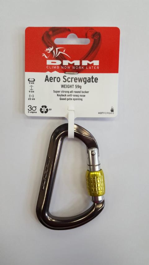 Basalisk Aluminium Screwgate Karabiner 6 mm