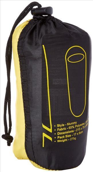 Highlander Mummy Style Sleeping Bag Liner - Polycotton - Travel