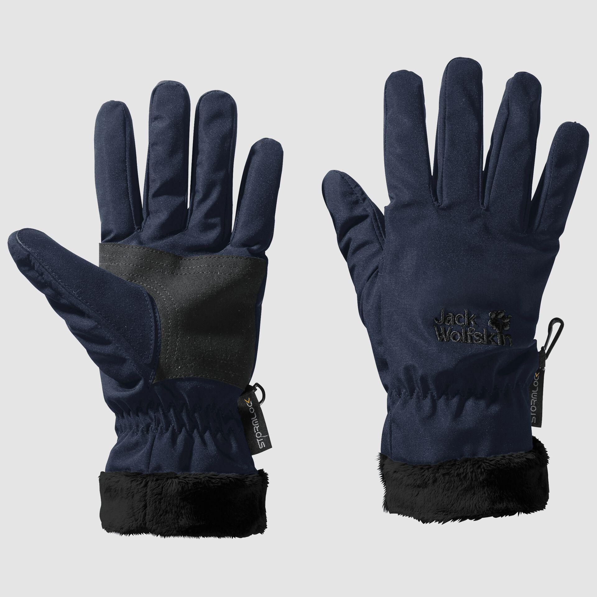 Jack Wolfskin Unisex Stormlock Highloft Glove Winter Glove Windproof