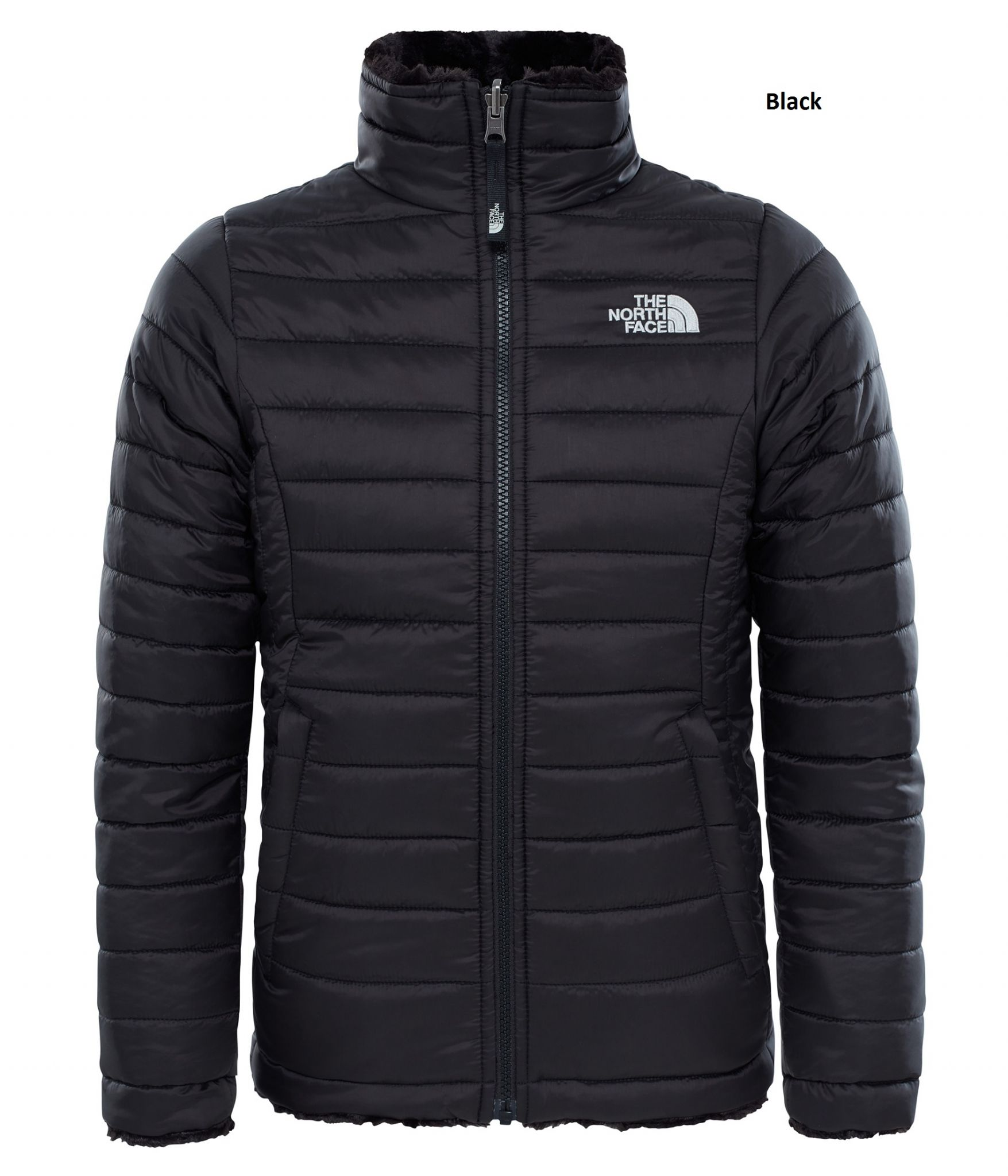 The North Face Girls Reversible Mossbud Swirl Jacket 7278a6232