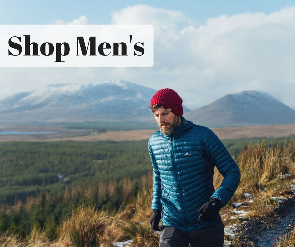 Shop Mens Clothing - Jackets, Fleeces and Trousers