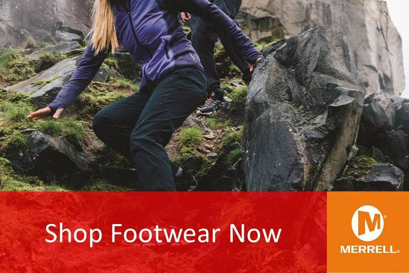 Footwear - Hiking, Walking, Trail running - Merrell - Outdoor Adventure NI