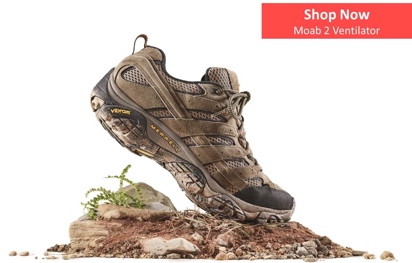 Merrell Mens Moab 2 Ventilator - Outdoor Adventure NI